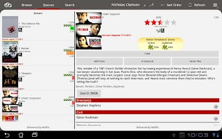 Screenshot of NetQ - A Netflix Queue Manager