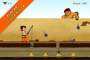 Screenshot of Chhota Bheem Mice Mayhem Lite