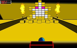 Screenshot of Atomic Brick Breaker 3D