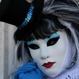 Venice mask by Dominic Jacob - News & Events World Events ( venezia, carnival, carnaval, carnevale, venice, mask, venise, masque, maschere,  )