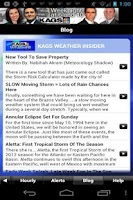 Screenshot of KAGS HD Weather