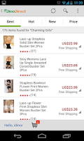 Screenshot of DinoDirect - Shopping China