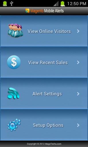 Magento Mobile Alerts