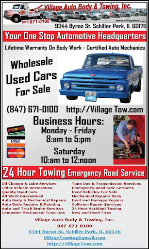 Village Auto Body Towing Inc