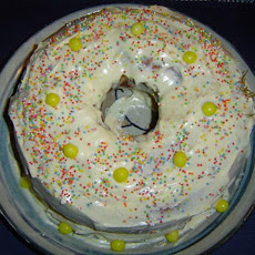 Luscious Lemon Bundt Cake W/Lemony Cream Cheese Frosting
