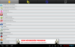 Screenshot of SQLite Admin