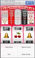 Screenshot of Cherry Slot Machine
