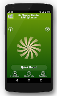Go Memory Booster - Optimizer - screenshot
