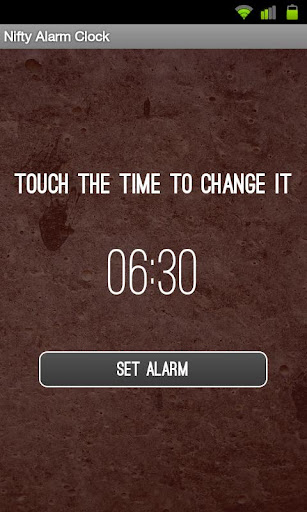 Nifty Alarm Clock