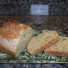 Poppy Seed Beer Bread