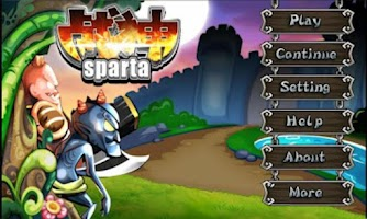 Screenshot of Sparta:Avengers wars
