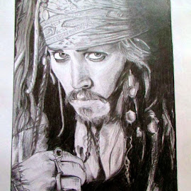 Savy, eh? by Abhishek Roy - Drawing All Drawing ( jack sparrow )