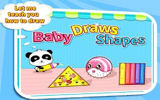 Screenshot of Draw Shapes by BabyBus