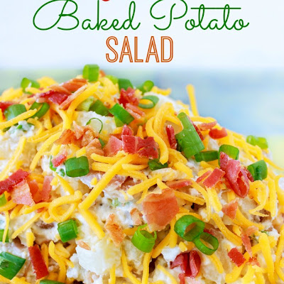 Loaded Baked Potato Salad Recipe Made Fresh & Easy