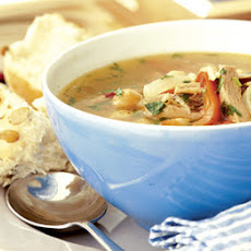 Perky Turkey Soup
