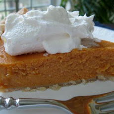 Mashed Sweet Potato Pie