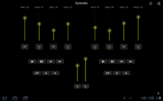 Screenshot of MidiDroide Tablet