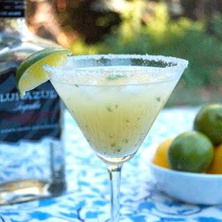 Pineapple Basil Margaritas