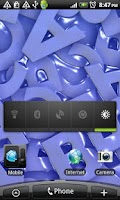 Screenshot of 3D ABC Live Wallpaper Free