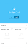 Screenshot of S View Call