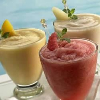 Fabulous Canned Fruit Frappes