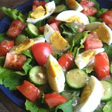 Mixed Green Salad and Mustard Vinaigrette
