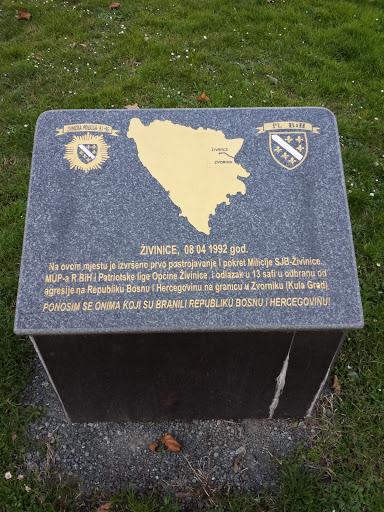 Zivinice Mapa BiH