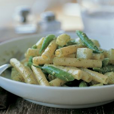 Ziti with Pesto and Potatoes