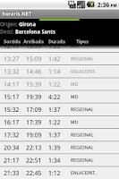 Screenshot of horaris.net