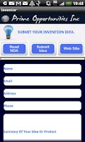 Screenshot of Inventors Submit Your Idea's