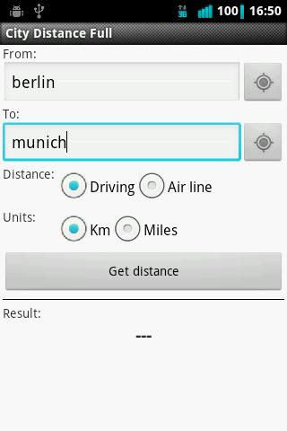 City Distance Full - screenshot