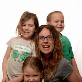 St Patrick's Day by Steve Recknor - People Family ( home studio, st patrck's day, ocf, family, fun, kids )