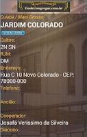 Screenshot of Onde Congregar - Relatório CCB