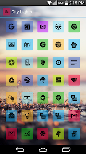 CityLights MultiLauncher Theme- screenshot thumbnail