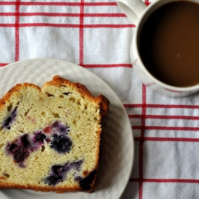 Blueberry Lemon Pound Cake