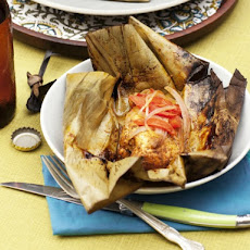 Cook the Book: Achiote-Marinated Chicken Wrapped in Banana Leaves