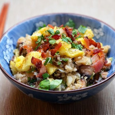 "Asian Cauliflower Fried ""Rice"" From 'Nom Nom Paleo'"