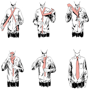 How to Tie a Tie-For Beginners - screenshot