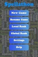 Screenshot of Spellathon