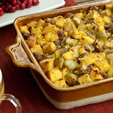 Cornbread, Sausage, and Apple Stuffing Recipe
