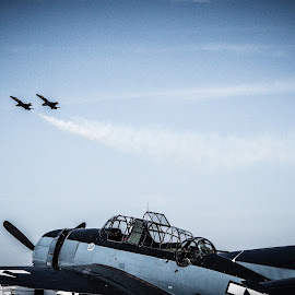 New Old New by Chris Thomas - Transportation Airplanes ( airplane, aircraft, hornet, f18, airshow )
