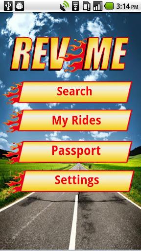 RevMe - Motorcycle Dealer app