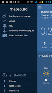 Meteo Andorra - screenshot