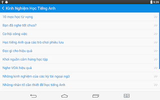 Screenshot of English Study TFLAT
