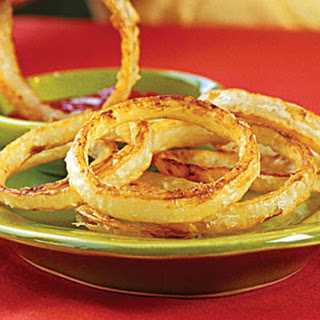 "Crispy ""Fried"" Onion Rings"