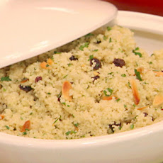 Couscous with Currants, Almonds, and Parsley