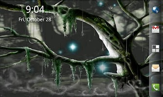 Screenshot of Biomechanical Bog Wallpaper