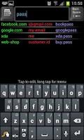 Screenshot of KeyRing Free Password Manager