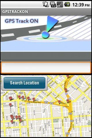 GPS TRACK ON