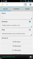 Screenshot of YourBus MBTA